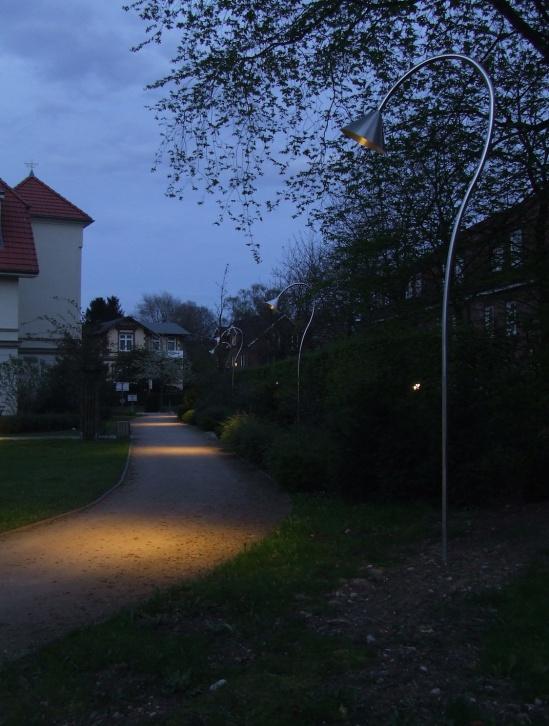 Wegeführung durch Licht